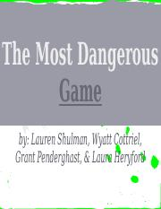 The Most Dangerous Game Presentation.pptx