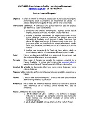 mmp 6008 - project- article instructions 14-fa - espanol