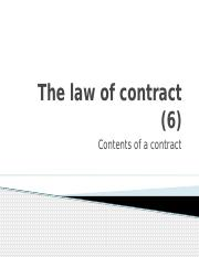 Buslaw 1 - Part B _5_ - Contract _Contents_.pptx