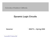 ChapterIX-DynamicLogic-EE477-Nazarian-Spring09