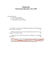 Multimedia_MOCK_EXAM_1999