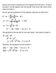 Solution for Chapter 1, Review Exercises - Problem 18 - Single Variable Calculus, 6th Edition - eNot
