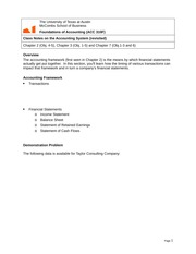 Class Notes on the Accounting System (1)