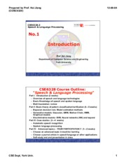 CSE 6328 Introduction