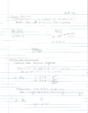 CH 105 Linus Pauling Notes