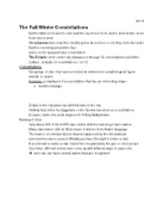 Fall&Winter Constellations lec 3