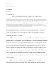 6.02 Graded Assignment- Summarizing a Current Article on the Economy.docx