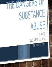 Wk 4 Substance Abuse Disorders Presentation - JR PSY 410.pptx