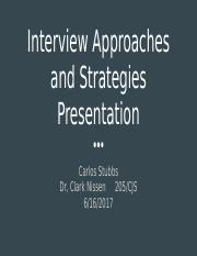 Interview Approaches and Strategies Presentation.pptx