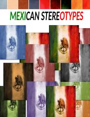 Mexican Stereotypes.ppt