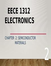 Lecture 3 Semiconductor materials