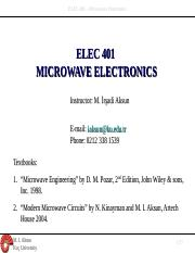 IntroMicrowaves_Elec401.ppt