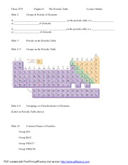 Chem 1075Chapter 6 Lecture Outline