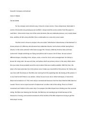 Essay #2 Compare and Contrast Claire Walker