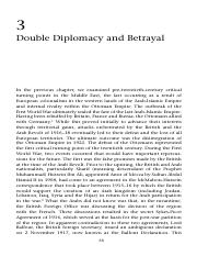 2. (OPTIONAL) Double Diplomacy - Critical Turning Points