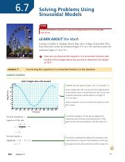6.7 Solving Problems Using Sinusoidal Models - student.pdf