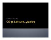 cs31day9 Wk 4 W lecture slides