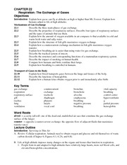Chapter 22 Student Notes