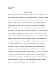 Spanish Movie essay