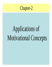 Application of Motivational Concepts.ppt