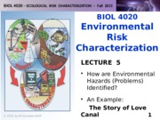 BIOL 4020-F2015-Lecture 5-Problem Identification-final-posted
