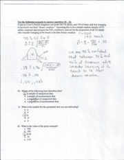 Stats and intermediate Business Analysis notes 4
