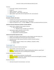 Biology Notes Chapter 3