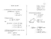 Math 101 Apr 89 Solutions