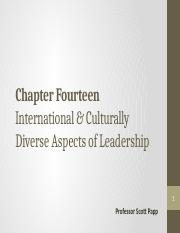 CHAPTER 14 (Culture & Diversity - ulearn copy)