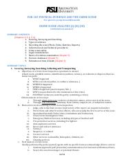 2. SUMMARY CLASS II-IV CRIME SCENE ANALYSIS ASU.pdf