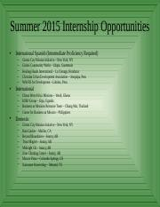 Summer'15 List of Internships.ppt