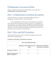 HAUGLAND collaboration assessment guide 5.4