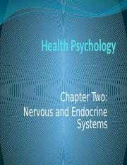 Chapter 2.Nervous System and Endocrine