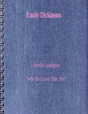 ENGL 4350- Emily Dickinson.ppt