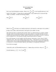 lecture 11 on Calculus I