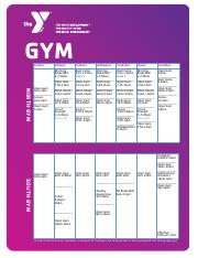 Gym 2017 February Updated