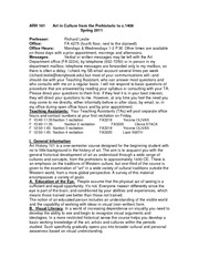 101 whole syllabus Sp 2011