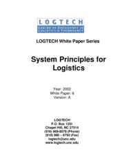 White Paper 2002-6 System Principles