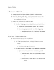 Chapter 18 Outline pg 1