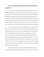 TOK real essay
