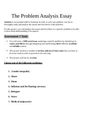 Assessment 1 topics and instructions