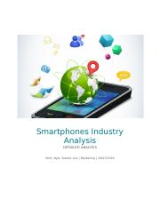 Smartphones Industry Analysis.docx