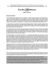 batna bullard houses Bullard houses: interests and batnas of parties seller (downtown co)  interests buyer (absentia) interests preservation confidentiality residential.