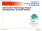 INSY 450 - Chapter 4: Project Integraton Management