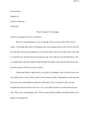 This I Believe English Essay
