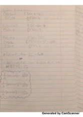 Derivatives of Inverse Functions Class Notes