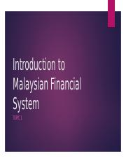Lecture Week 1  2  Introduction to Financial System.pptx