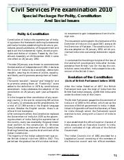 civil services - Indian Constitution_ Parliament and Panchayati Raj.pdf