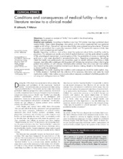 Conditions and Consequences of Medical Futility-from a Literature Review to a Clinical Model.pdf