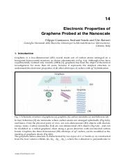 14 Electronic Properties of Graphene Probed at the Nanoscale.pdf
